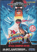 Photo de la boite de Street Fighter 2 - Special Champion Edition